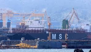 quel est le plus grand porte conteneurs du monde