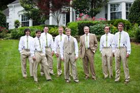 Groomsmen Front House Skinny Ties