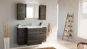 emotion badmöbel set badblock emilia m design led spiegelschrank anthrazit gemasert kaufen otto