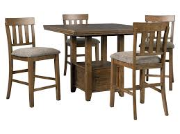 Flaybern 5-Piece Counter Table Set