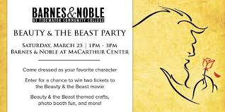 Beauty & The Beast Party at Barnes & Noble TCC