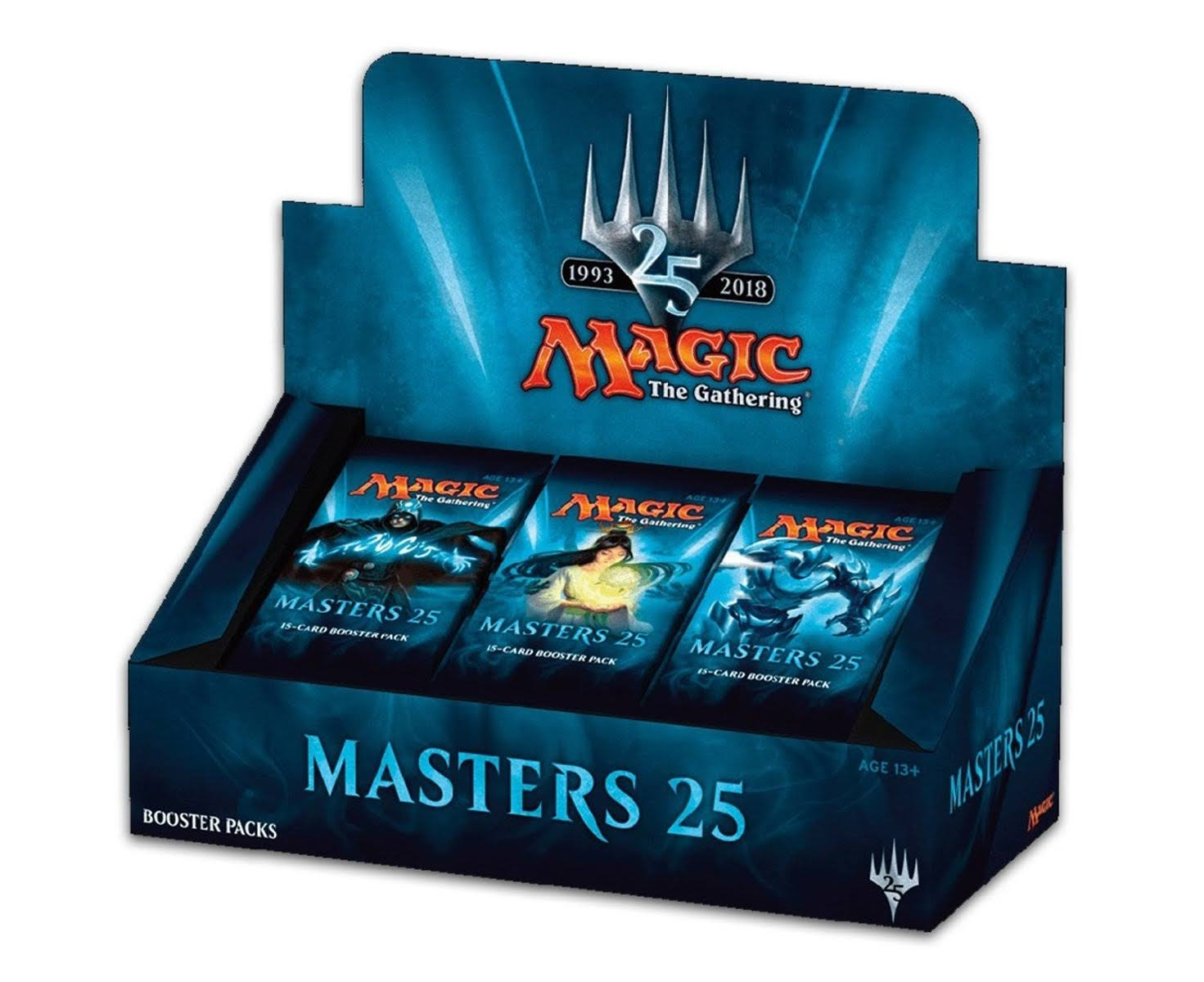 Magic The Gathering Masters 25 Factory Sealed Booster Box - 30pk