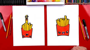 How To Draw Funny French Fries