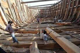 mandvi u0027s 400 year old dhow making tradition in gujarat u0027s kutch