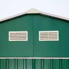 Arrow Galvanized Steel Storage Shed by Duramax Imperial 12 X 20 Large Metal Garage Shed Gray Sheds Com