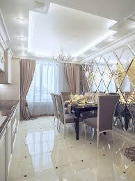 angepasst luxus abgeschrägte glas spiegel für esszimmer wand