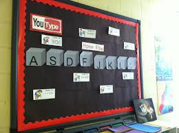 YouType Bulletin Board Typing Keyboarding Technology Education School K12