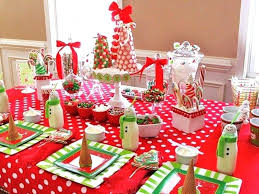 Christmas Dining Table Decorations Interior Images Room Ideas For Captivating Decorating