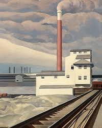 Factory Charles Sheeler Ford Motor Co America In The 1920s Primary Sources For Teachers Class National Humanities Center