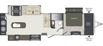 2008 Montana 5th Wheel Floor Plans by Laredo