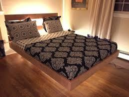 bed frames diy floating bed frame plans diy platform bed plans