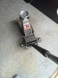 Aluminum Floor Jack 3 Ton Capacity by Craftsman Aluminum 3 Ton Floor Jack Carpet Vidalondon