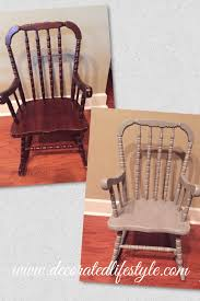 Rocking Chair Re-do With Chalk Paint – Decorated Lifestyle Part One Christmas In Heaven Poem With Chair Mainstays White Solid Wood Slat Outdoor Rocking Chair Better Homes Gardens Ridgely Back Mahogany Grandpas Brightened Up For New Baby Nursery Custom Made Antique Oak By Jp Designbuild Naomi Home Elaina 2seater Rocker Cream Microfiber John Lewis Partners Hendricks Light Frame Stanton French Grey Animated Horse Girl Rosie Posie Wooden Chiavari Chairs Silver 800