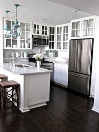 Kitchens With Dark Cabinets And Wood Floors by White Kitchen Dark Floors White Kitchen Dark Floors T Hedgy Space