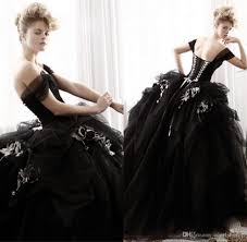 victorian black gothic wedding dresses ball gowns 2015 christmas