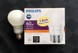 a 60w equivalent led bulb 5 before rebates a 2 for 1