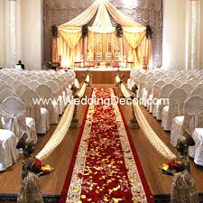 Awesome Red And Gold Wedding Decorations Gallery