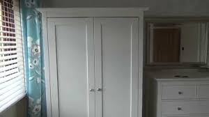 Ikea Brusali Wardrobe Assembly Video by How To Level Wardrobe Cupboard And Furniture Doors Youtube