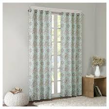 valetta cotton medallion printed curtain panel target