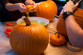 Dirty Pumpkin Carving Pictures by Bianca Lively October 2014