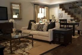 living room rug living roomrug room layout cowhide ideas modern