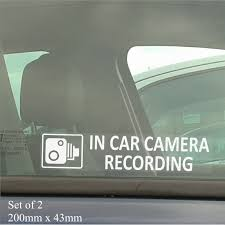 In Car Camera Recording Window Stickers 200mm X 43mm-CCTV Sign-Van ... Grumpy Cat Flippin Off Vinyl Car Laptop Graphics Window Sticker Gps Vehicle Alarm Tracker Security Stickers Signsfor Online Shop 8x Mini Mustaches Funny Window Truck Minitruck Cartel Home Lifted Ebay Diy Tailgate Cars Sexy Girl Wall Living Bedroom Lovely Custom Decals 7th And Pattison 115 Best Trucks Images On Pinterest Bagged Haters Gonna Hate For Its A Thing Cooper 5 X Small In Camera Recording Stickerscctv Amazoncouk Aliexpresscom Buy 3d Rabbit Ear Roof