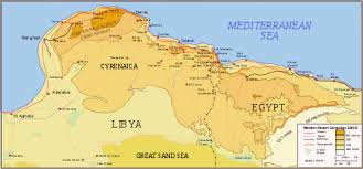 Map Of North Africa Egypt And Libya