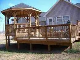 Patio And Deck Combo Ideas by 76 Best Decks Gazebos Tiki Bar And Room Ideas Google Images
