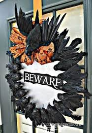 Grandin Road Halloween Wreath by Halloween Wreath Skull Wreath Scary Wreath Spooky Wreath