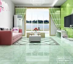 800 800mm foshan floor tiles green ceramic tiles glossy living