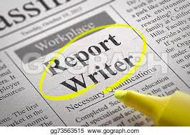 Report Writer Vacancy In Newspaper