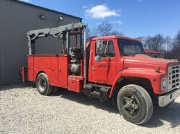 Excellent Shape 1986 International Utility Service Truck For Sale