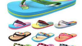 Womens Girls Urban Beach Sandals Flip Flops Toe Posts Kids Summer