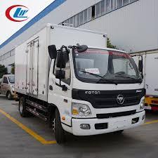 100 Freezer Truck Foton 4x2 120hp Refrigerated In Ghana Small Refrigerator Box