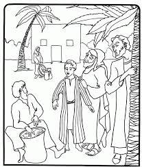 Coloriages Bible Dessins Colorier IMAGIXS 268698 Coloring Joseph Forgives His Brothers Page