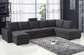 canapé d angle de qualité canapé d angle en tissu de qualité miami gris foncé angle droit