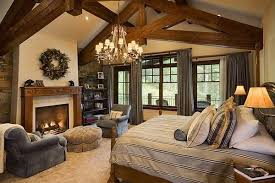Rustic Getaway Mid Size Style Master Bedroom