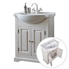 landhaus waschtischunterschrank inkl keramikwaschtisch 65 cm liria 56