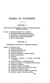 A Treatise On State And Federal Control Of Persons Property In
