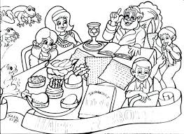 Passover Coloring Pages Vonsurroquen