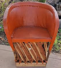 Amazon.com - Reustic Leathe Chair