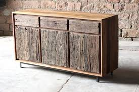 Reclaimed Wood Buffet And Hutch Rocket Uncle Back To Sideboard From Wine Cabinet Unusual Sideboards Furniture Dark Beech Credenza