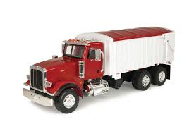 Ertl Big Farm Peterbilt Model 367 Truck With Grain Box | Jolley's ... John Deere 116th Scale Big Farm Truck With Cattle Trailer Tbek46069 Bruder Man Transportation Cow Figure Wolds Agri Dcp Intertional 9100i Day Cab Walking Floor Ferguson 1959 Tonka Farms Stake Horse Collectors Weekly Breyer Amimal Rescue And Toy Lights Siren Amazoncom Tomy Peterbilt Semi Vehicle Lowboy Ertl 132 Model 579 Livestock Long Haul Trucker Newray Toys Ca Inc Whosale Now Available At Central Items 1 40 Flatbed 2 Tractors Big Farm 367 Grain Box Farmer Tractor And Kids Set Onle4bargains