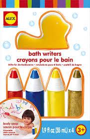 Crayola Bathtub Fingerpaint Soap Ingredients by Amazon Com Alex Toys Rub A Dub Bath Writers Toys U0026 Games