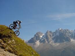 competitions de vtt dans la région de chamonix mont blanc mont