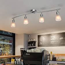 costway led deckenleuchte drehbar 4 flammig deckenle schwenkbar leuchten decken strahler für schlafzimmer wohnzimmer 9w e14