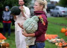 Varieties Of Pumpkins by A Squash And Pumpkins Garden With Hundreds Of Varieties Star Tribune