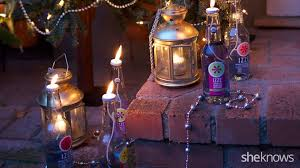 Citronella Oil Lamps Diy by How To Upcycle Your Glass Bottles Into Simple Diy Lanterns