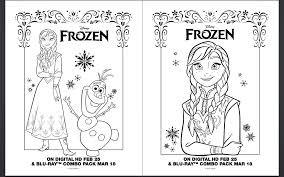 FROZEN Printables And Coloring Sheets Anna Pages 7 18 Disney Go