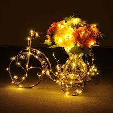 Fixing Christmas Tree Lights In Series by Starry String Lights Warm White Color Led U0027s On A Flexible Copper